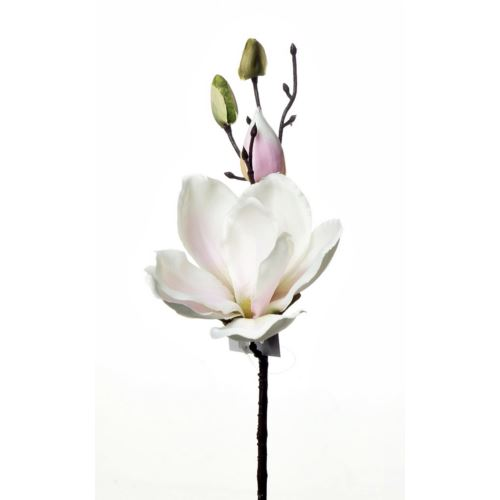 SINGLE MAGNOLIA ART111 WHITE/LT.PINK