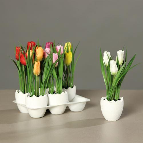 Tulipany w jajku 6 szt/ cena za szt