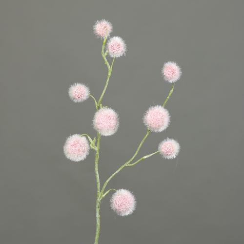 Kulki na gałązce Ball-grass 60 cm rosee