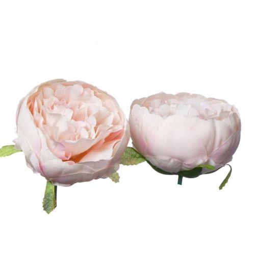 Peonia – Peony head /P001 7cm Lt pink