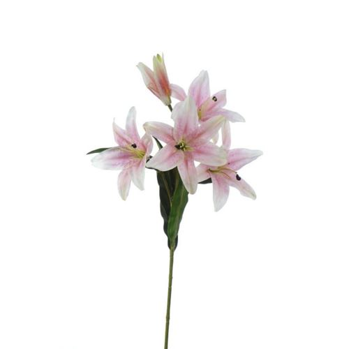 LILY SPRAY MST1627 POWDER PINK 110cm