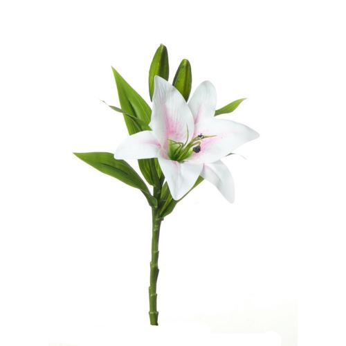 SINGLE LILY MST169 POWDER PINK 36cm