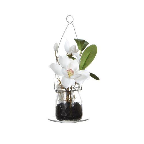 Magnolia w szkle 18 cm 57108-33 cream
