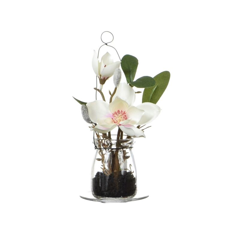 Magnolia in Hanging glas 18 cm 57108-33 pink-cream
