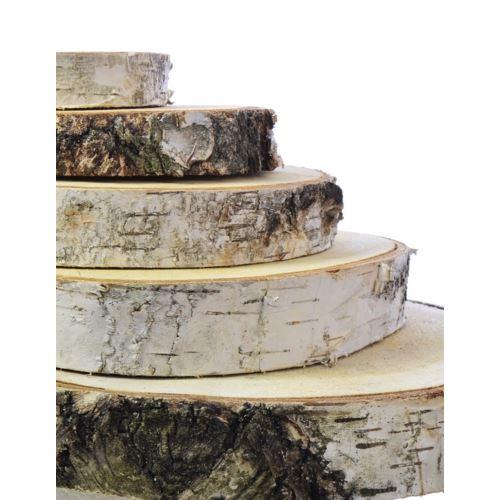 Plaster drewna brzoza podkładka (10) śr.8-10cm