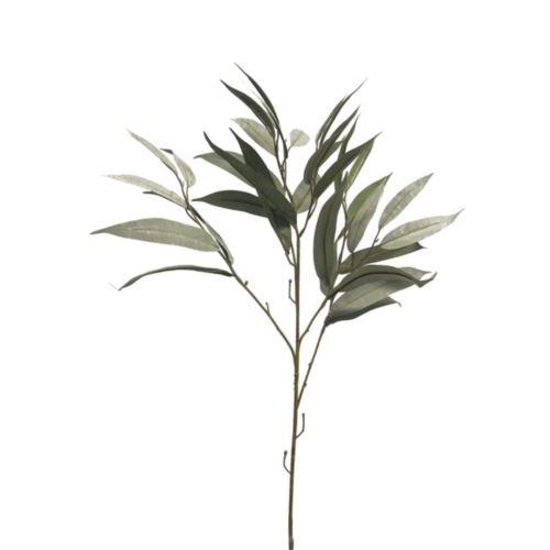 Mango leaf spray dusty green 76cm