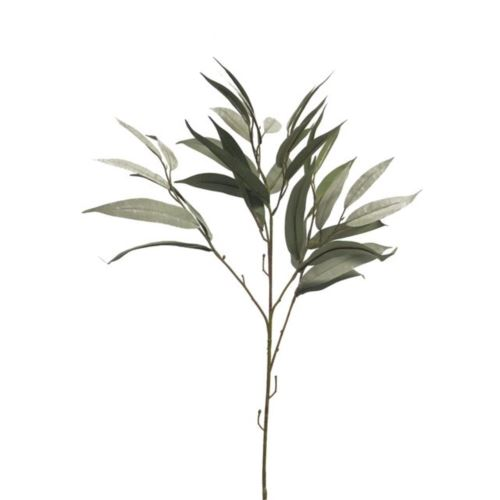 Mango leaf spray dusty green 76cm