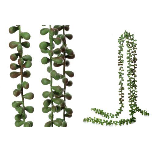 Zwis sedum 55 cm green brown