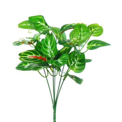 BUKIET LIŚCI X5 ZEBRA 30CM GREEN RED (3)
