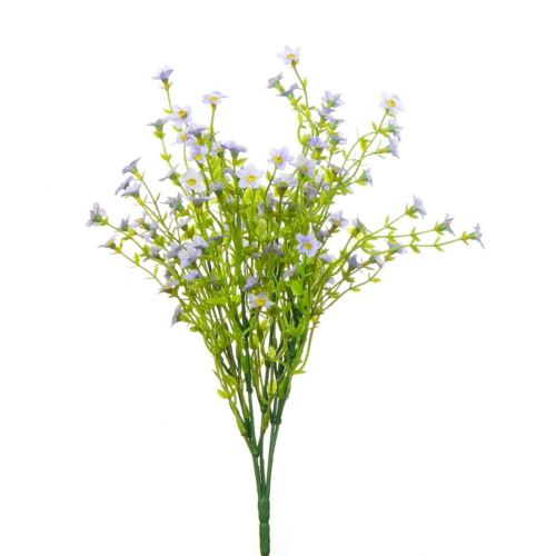 WAX FLOWER BUSH X5 35CM LAVENDER Z-9,5