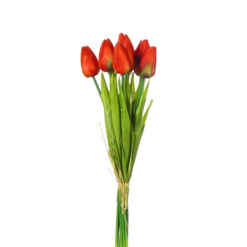 Tulipan 42cm art002 (10szt/bag) red orange