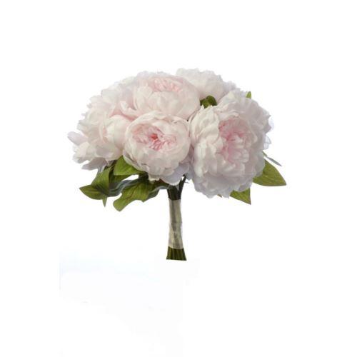 Bukiet peoni peony bush 38cm  sun533 powder pink