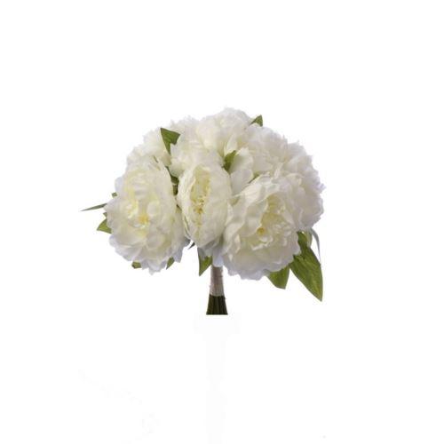 Bukiet peonii peony bush 38cm  sun533 cream