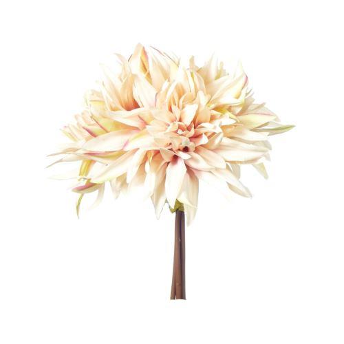 Dalia bukiet x3 27cm brzoskwiniowy