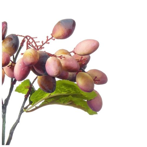 Gałązka oliwna 43cm malve