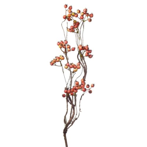 Gałązka jagodowa 55cm róż