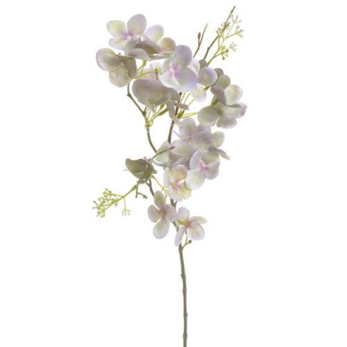Hortensja gałązka 50cm dirty violet green