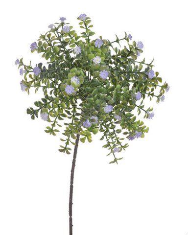 Drobne kwiatuszki na gałązce violet