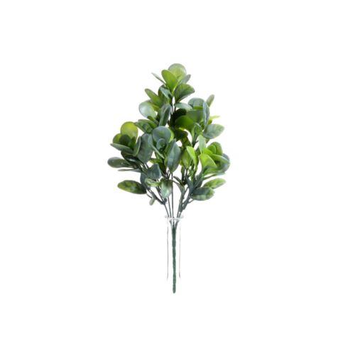 BUKIET- LIŚCIE DEKORACYJNE 32CM GREEN GRAY