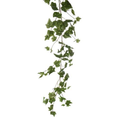 GIRLANDA HEDERA 160cm  BL03 FLOCK GREEN