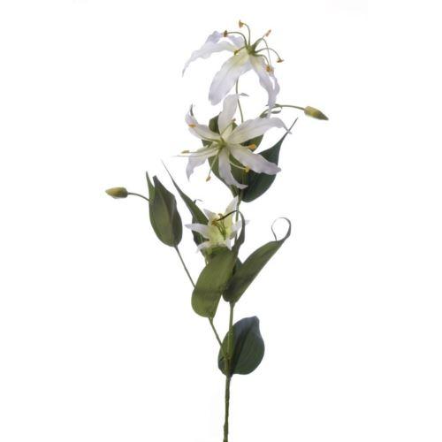 Gloriosa spray 80cm sun588 white