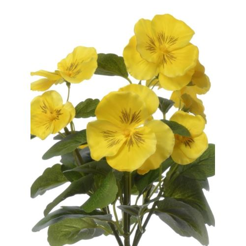 BRATEK PANSY BUSH 30 CM SUN418 YELLOW