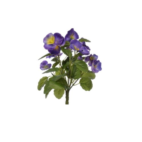 BRATEK PANSY BUSH 30 CM SUN418 PURPLE