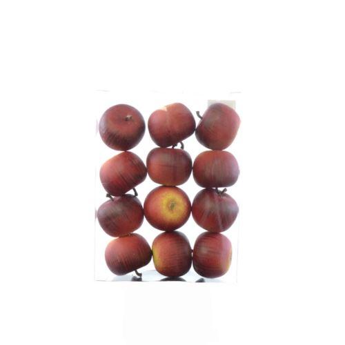 Jabłka czerwone 5cm op/12szt HS-1017-1193
