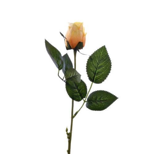Róża w pąku 45 cm MY85 yellow orange