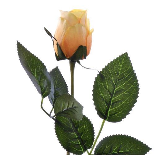 Różą w pąku 45 cm MY85 yellow orange