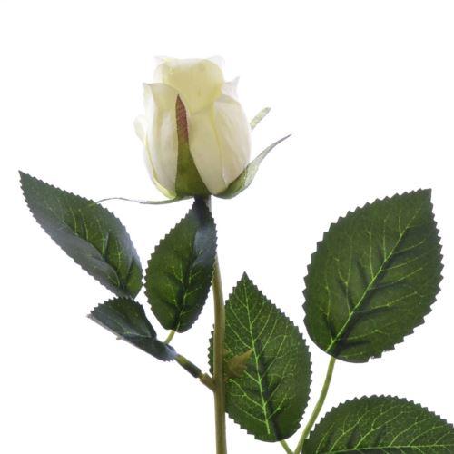 Różą w pąku 45 cm MY85 cream