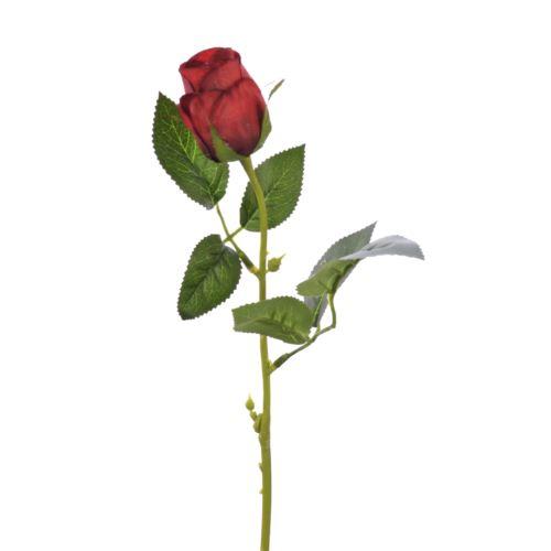 Różą w pąku 45 cm MY85 dark red