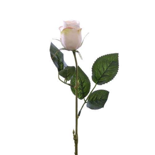 Róża w pąku 45 cm MY85 cream pink