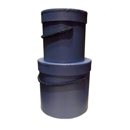 Pudełka ozdobne flowerbox kpl.w5070/2dark blue