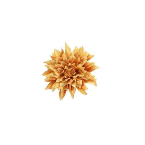 DALIA HEAD 20 CM /6537 GOLD YELLOW
