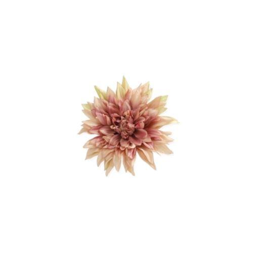 DALIA HEAD 20 CM /6537 DIRTY PINK