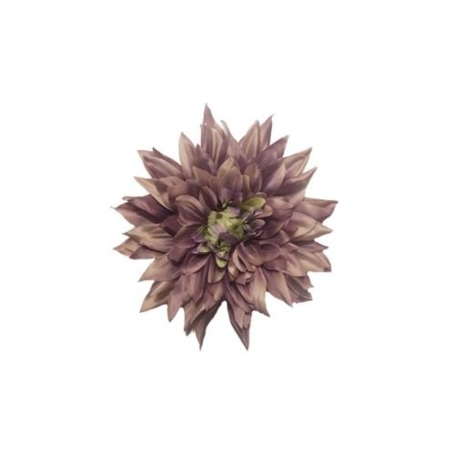 DALIA HEAD 20 CM /6537 DIRTY VIOLET GREEN