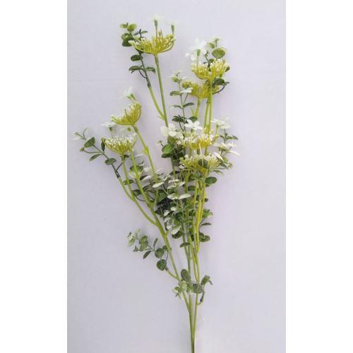 """GAŁĄZKA EUKALIPTUS 87cm  """"kwiatuszki"""""""
