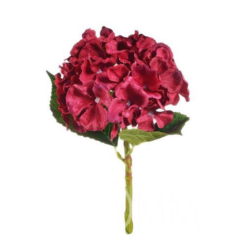 Hortensja mała 33cm red R055