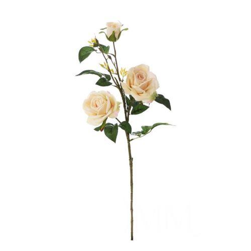Róża gałązkowa 83cm beige