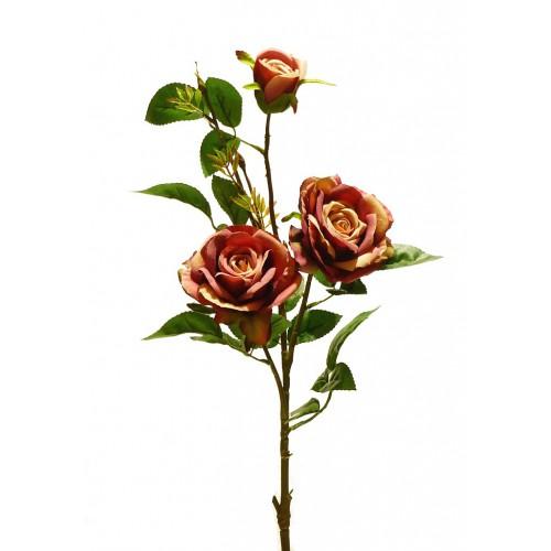 Róża gałązkowa 83cm  dk. Pink