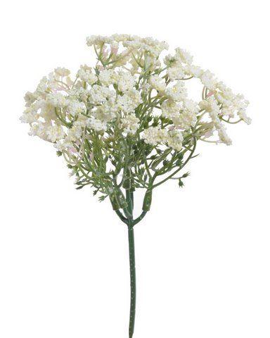 Drobne kwiatuszki pik CREAM 3szt/pecz.