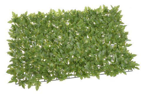 Mata z listków 40x60cm green