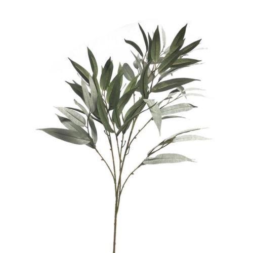Mango leaf spray dusty green 100cm