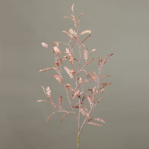 Fernspray glitter 94 cm light-pink