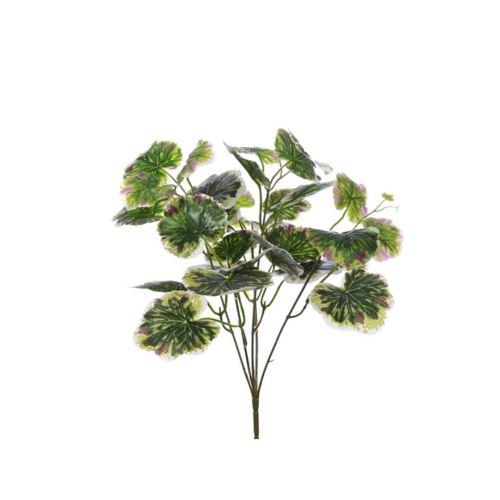 BUKIET LIŚCI x5 CV10545 GREEN WHITE RED