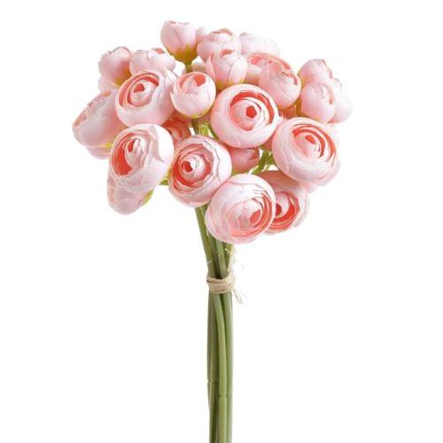 Bukiet jaskrów  36 kwiatów 30cm lt pink