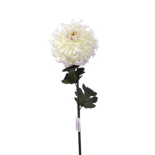 Chrysanthemum 87 cm art119 cream lt violet