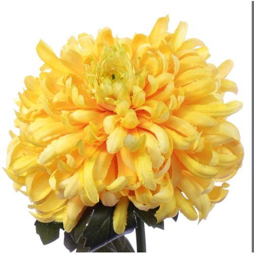 Chrysanthemum 87 cm art119 yellow