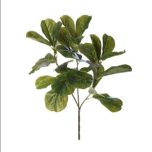 Gałązka dekoracyjna gumowana 69cm green